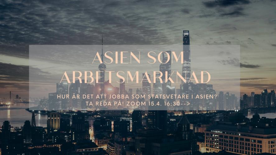 Asien som arbetsmarknad AW!