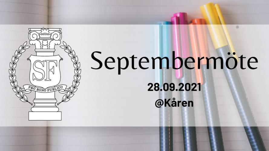 Septembermöte 28.09.2021